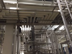 Interconnecting pipework